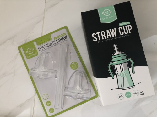 Grosmimi PPSU Straw Cup 300ml(6M+)